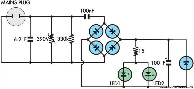 Прибор схема для экономии электроэнергии своими руками